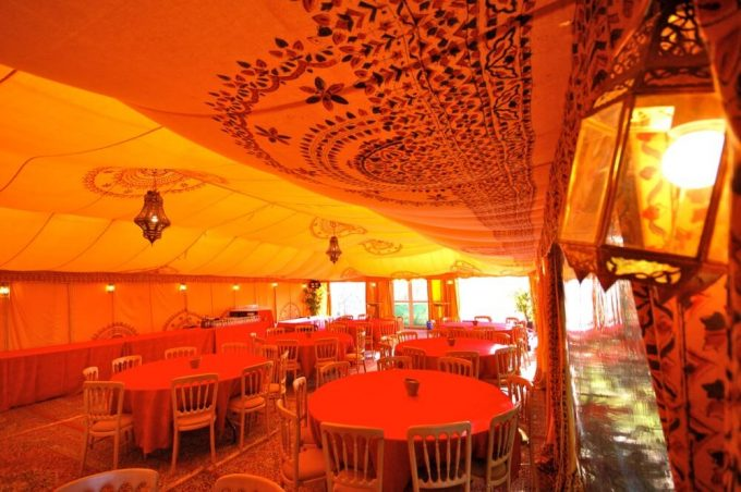 Moroccan Themed Marquee Party Ideas