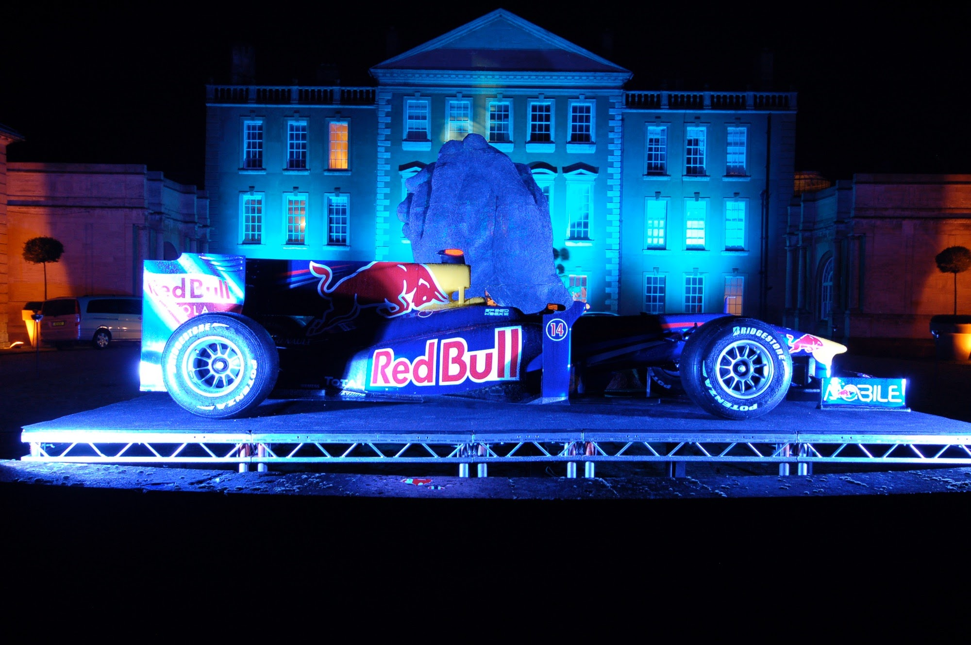 Red Bull launch party Aynhoe House